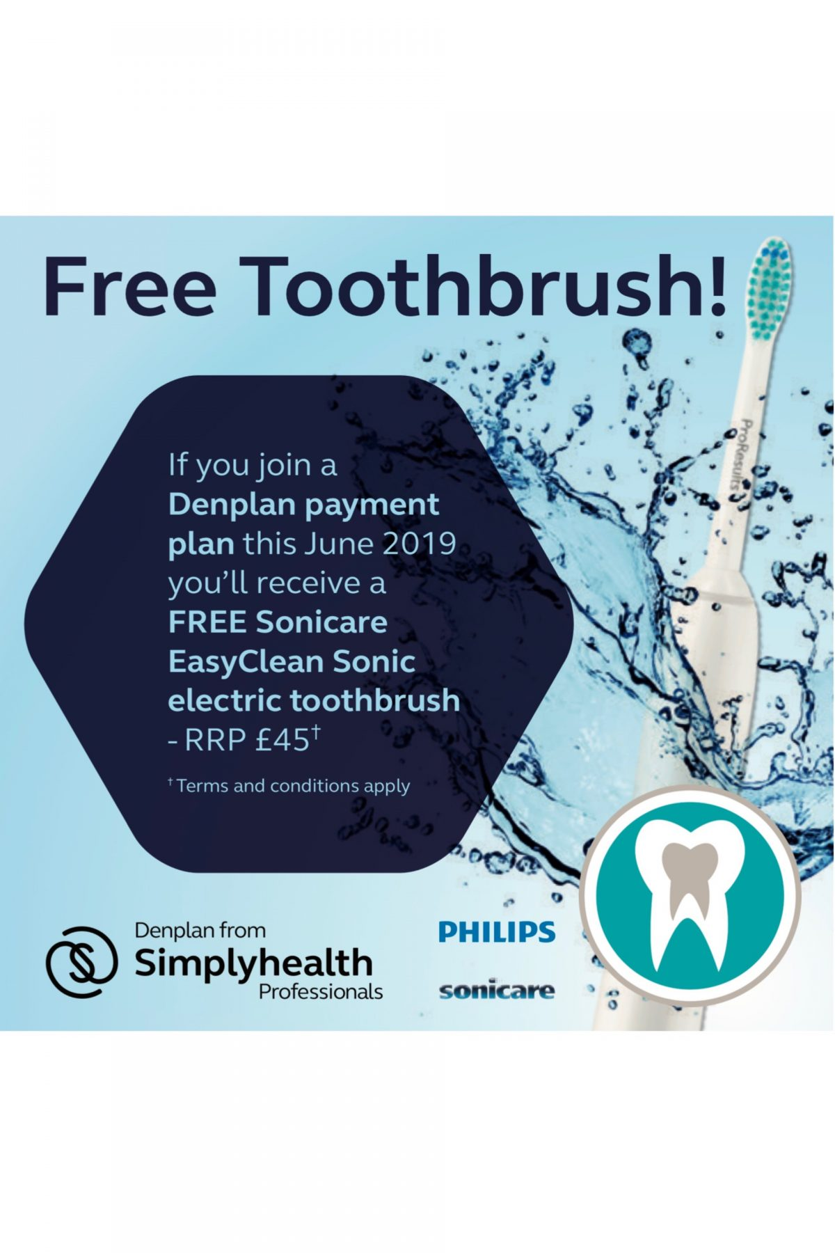 Free Electric Toothbrush Promotion!